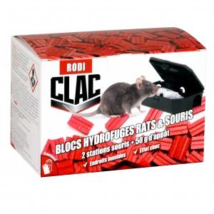 Blocs hydrofuges Anti rats et souris